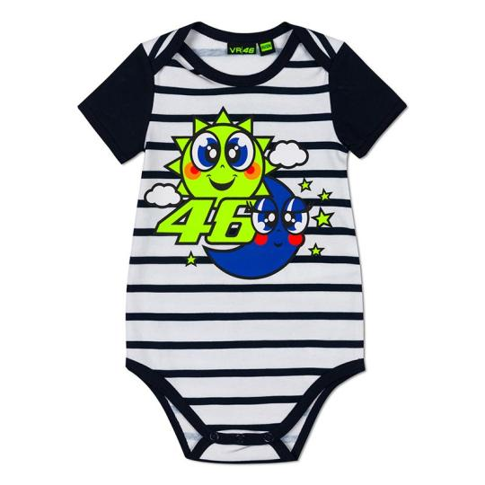 BODY BABY VR46 SUN AND MOON RAYE - BLEU / BLANC